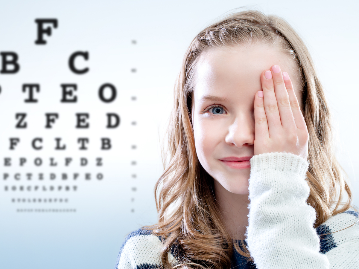 Quando fare l'esame della vista ad un bambino?