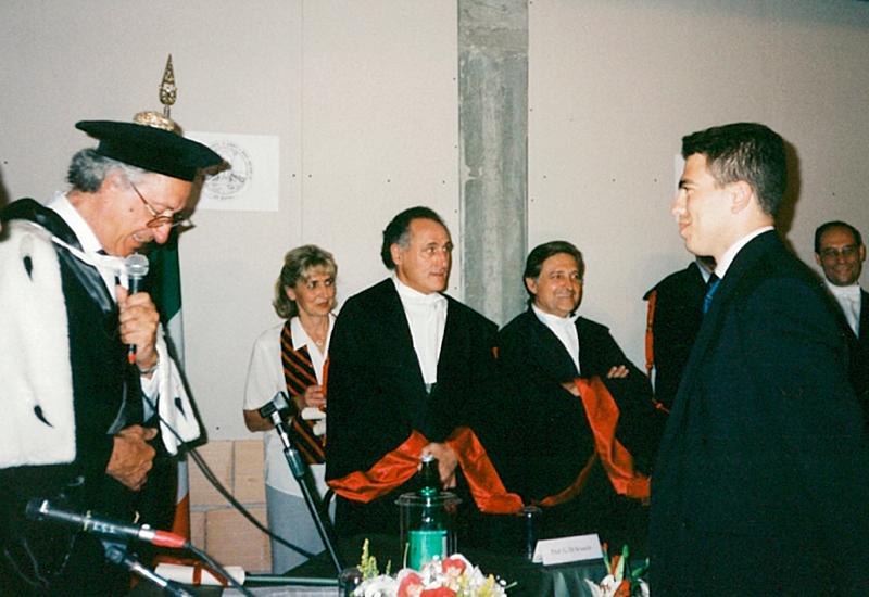 Proclamazione tesi di laura (Roma)
