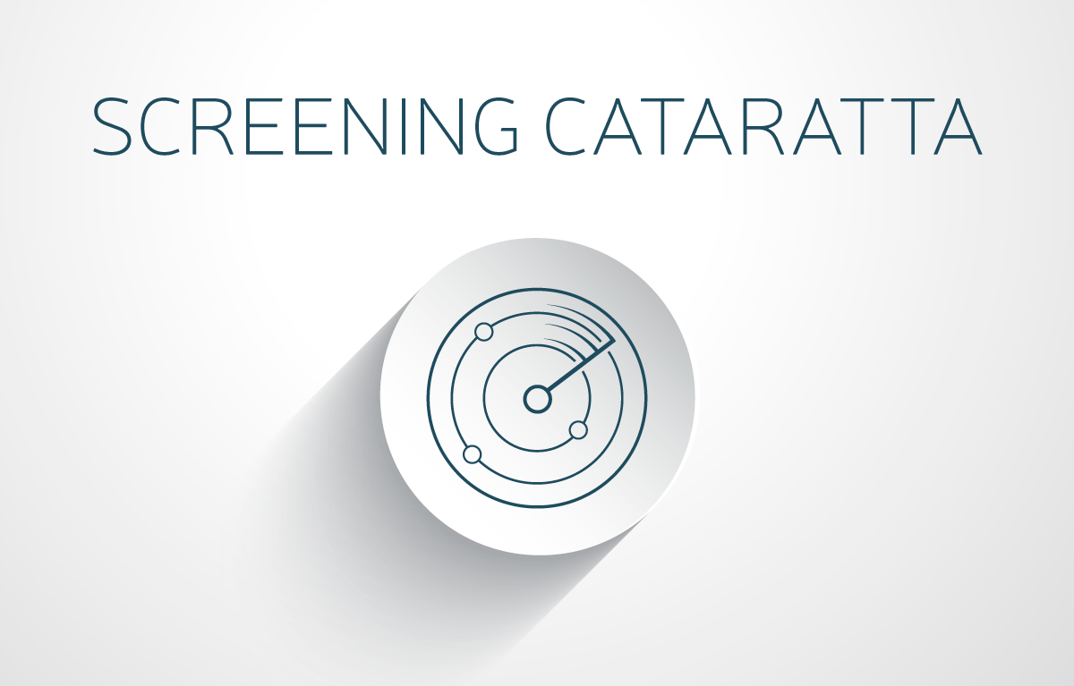 Screening cataratta