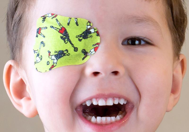 Ambliopia, occhio pigro La vista del Bambino