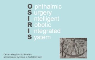 OSIRIS Ophthalmic Surgery Intelligent Robotic Integrated System