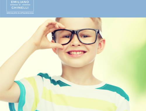 E' il mese della prevenzione dei difetti della vista del bambino.